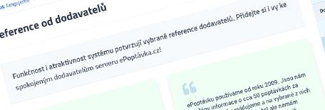 ePoptávka.cz funguje!